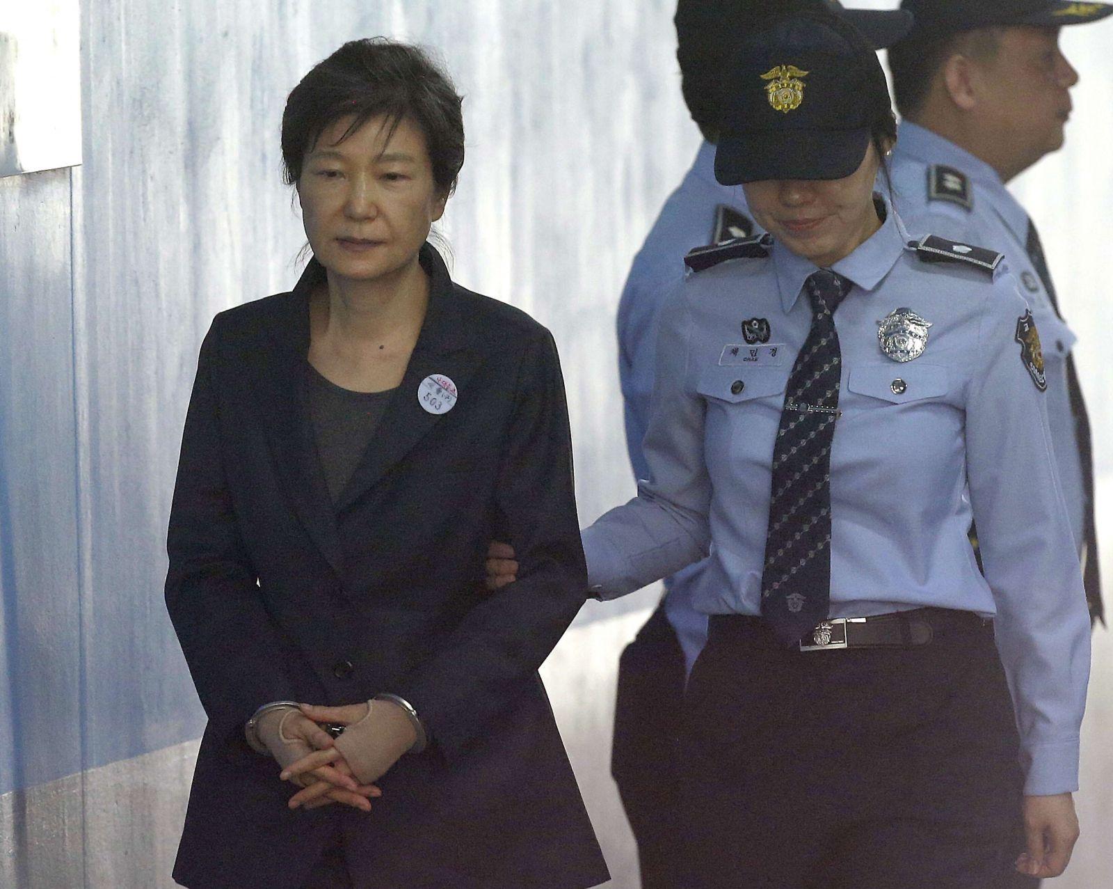 韓國前總統朴槿惠放棄上訴