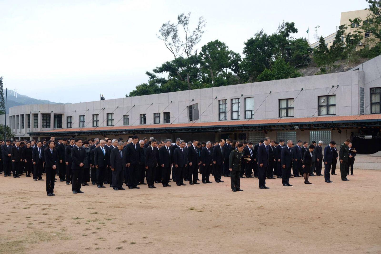 特區政府舉行儀式公祭死難者