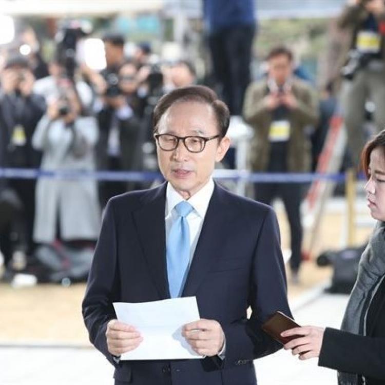 韓法院取消對李明博的逮捕必要性審查