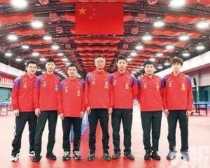 中國乒乓球隊公佈世界賽名單