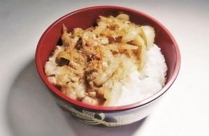 日式牛肉丼