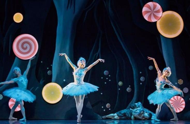芭蕾舞劇!! 糖果海中翱翔