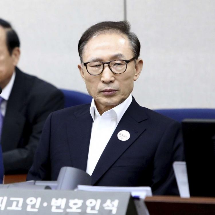 韓前總統李明博涉貪案首度開庭