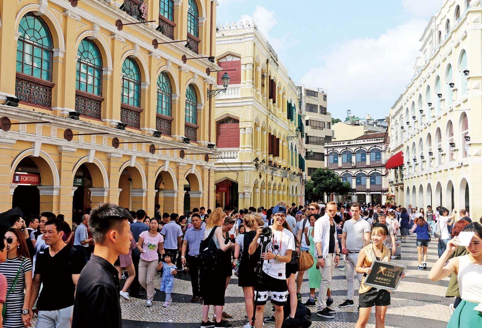 來澳旅客同比增加5.58%