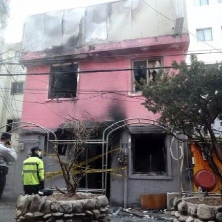 韓國首爾旅館遭縱火五死四傷
