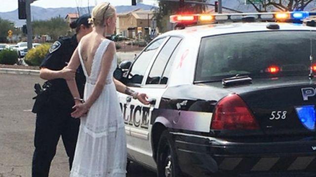 美新娘大日子涉醉駕被捕