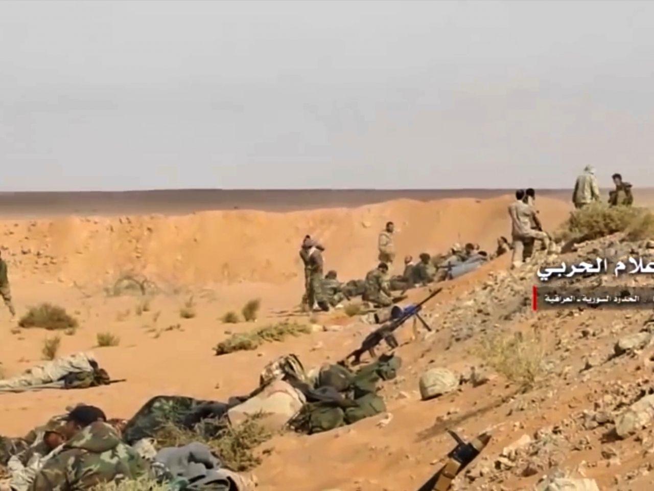 IS重奪敘利亞最後主要據點